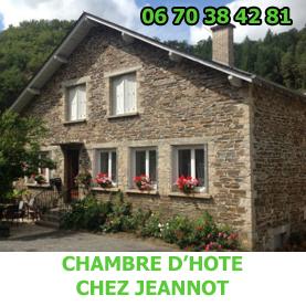 La chambre d'hôte chez Jeannot à Estaing est situé sur le GR65. Les pèlerins du Saint Jacques de Compostelle n'auront aucun détour à faire pour s'y rendre