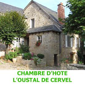 Non loin d'Estainf, l'Oustal de Cervel, agréable chambre d'hôte, se propose de véiculer les pèlerins en route vers Compostelle.