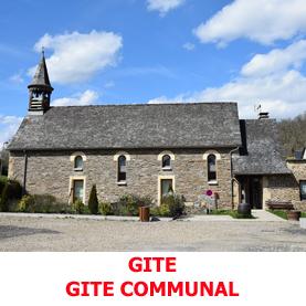 Sur le chemin du Saint Jacques de Compostelle, le gite communal d'Estaing acceille les pèlerins de la Via Podiensis, du 1er avril au 30 octobre.