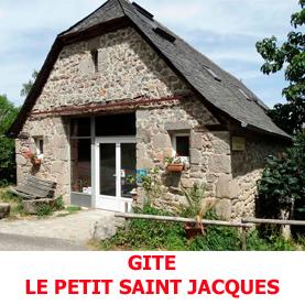 Le gite d'étape le Petit Saint Kacques à Golinhac offre l'hospitalité aux pèlerins du Saint Jacques de Compostelle