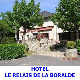 Hôtel le relais de la Boralde à Espalion sur le Saint Jacques de Compostelle