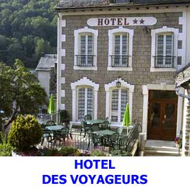Hôtel deux étoiles sur le Saint JAcques de Compostelle à Saint Chély D'Aubrac - Hôtel des Voyageurs