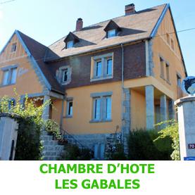 Chambres d'hôte Les Gabales sur le chemin du Saint Jacques de Comppostelle à Saugues