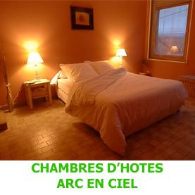A Saugues, la chambre d'hôtes Arc en Ciel est un lieu privilégiè pour le pèlerin