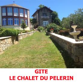 Sur la route du Saint Jacques, le Chalet du Pèlerin à Saugues reçoit les randonneurs du GR65
