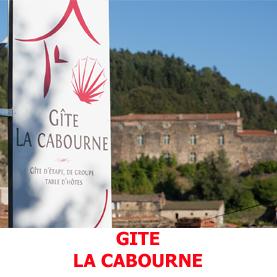 Le gite la Cabourne à Saint Privat d'Allier, superbe, chaleureux et confortable accueille les pèlerins en route sur la via Podiensis.