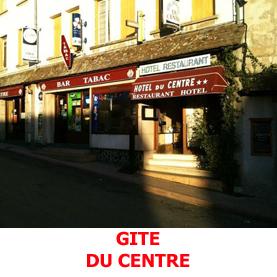 En plein centre de Saint Alban sur Limagnole, le gite du Centre, héberge les pèlerins en partance vers Compostelle.
