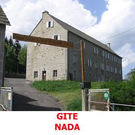 A nasbinals, le gite Nada,classé gite de France et géré par des bénévoles, reçoit les pèlerins en route vers Compostelle