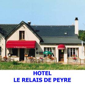 Le relais de Peyre situé a Aumont Aubrac possède quelques chambres pour les pèlerins en route sur le chemin de Saint Jacques de Compostelle
