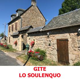 Gite Compostelle Lo Soulenquo à Fonteilles entre Estaing et Golinhac