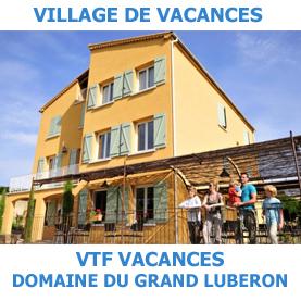 Le village de vacances VTF, le domaine du Grand Luberon, est idéalement placé pour décourvir toute la région d'Apt